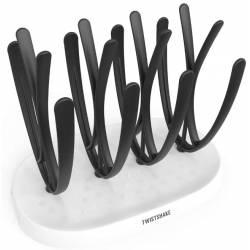 Twistshake Egouttoir Noir et blanc