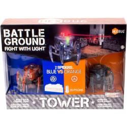 HEXBUG - Battle Ground Tower Robot électronique, 409-5123