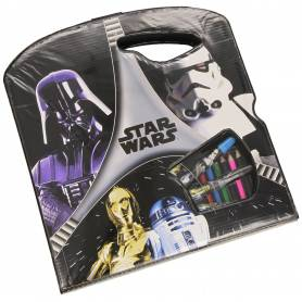 Malette de coloriage Star wars 40 pieces