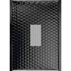 50 Enveloppes à Bulles Métallisées Couleur Noir - 210X150 mm - C/0