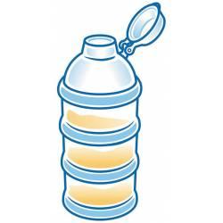 Boite Doseuse NUK de Lait en Poudre 4 Compartiments