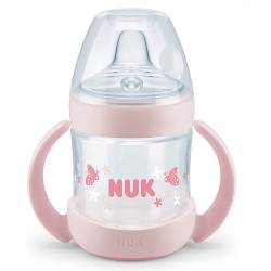 Tasse d'Apprentissage NUK Nature Sense 150 ml Rose