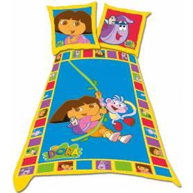 Parure housse de couette Dora 140 x 200 cm + 1 taie
