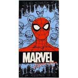 Serviette de Plage Spiderman Bleu Foncé 140 x 70 cm