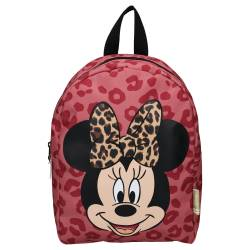Sac à Dos Minnie Mouse Style Icons Rouge 34 cm