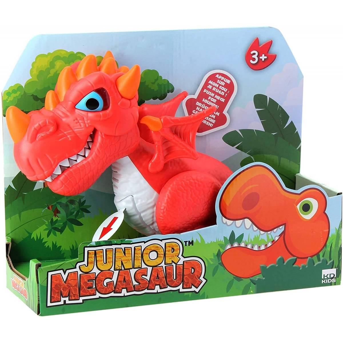 Dragonsaurus Rouge Interactif Junior Megasaur
