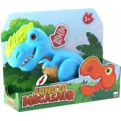 Tyranosaurus Bleu Interactif Junior Megasaur