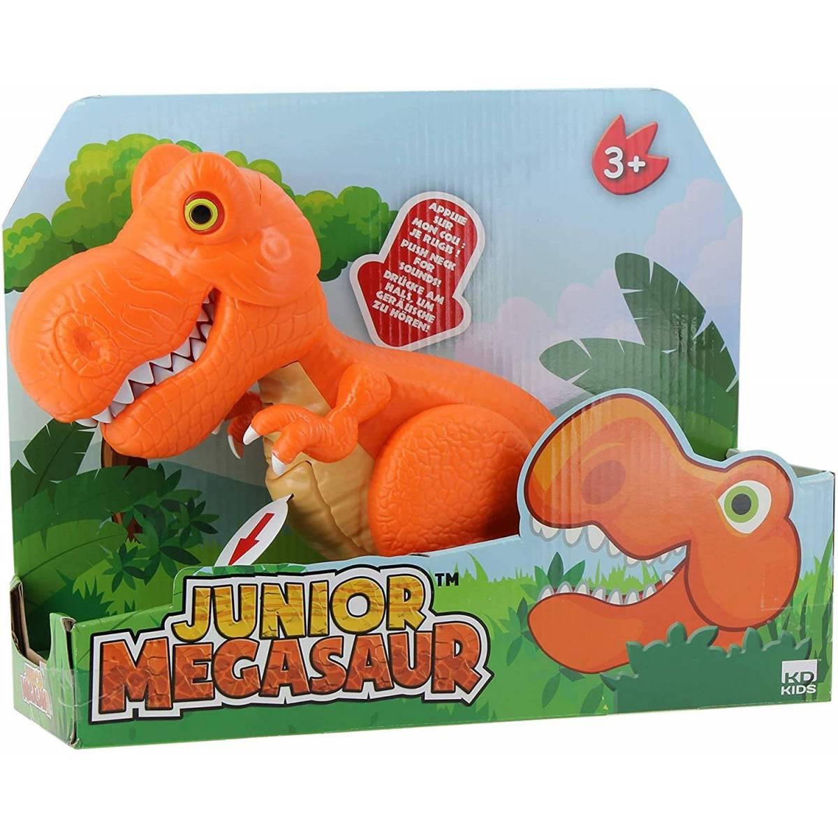T-Rex Orange Interactif Junior Megasaur