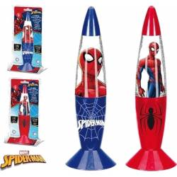 Lampe LED à Paillettes Spiderman 18 cm