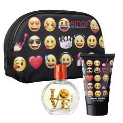 Trousse de Toillette Emoji avec Gel Douche et Eau de Toilette
