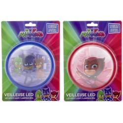 Veilleuse Push LED Pyjamasque