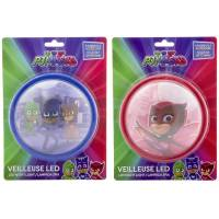 Veilleuse Push LED Pyjamasque