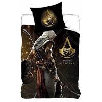 Housse de Couette Réversible Assassin's Creed 140 x 200 cm + Taie d'Oreiller 63 x 63 cm