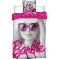 Housse de Couette Réversible Barbie 140 x 200 cm + Taie d'Oreiller 63 x 63 cm