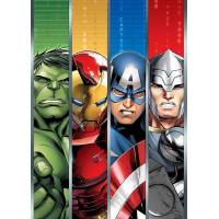 Plaid Couverture Polaire Marvel Avengers 140 x 100 cm