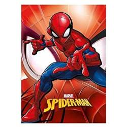 Plaid Couverture Polaire Marvel Spiderman 140 x 100 cm