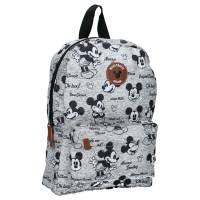 Sac à Dos Mickey Mouse Gris Never Out Of Style Small 33 cm