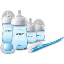 Kit biberons Philips Avent Bleu