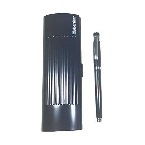 Oberthur NEPTUNE Metal Black Fountain Pen - 240356