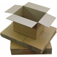 100 Shipping or Moving Boxes 40X30X20 cm