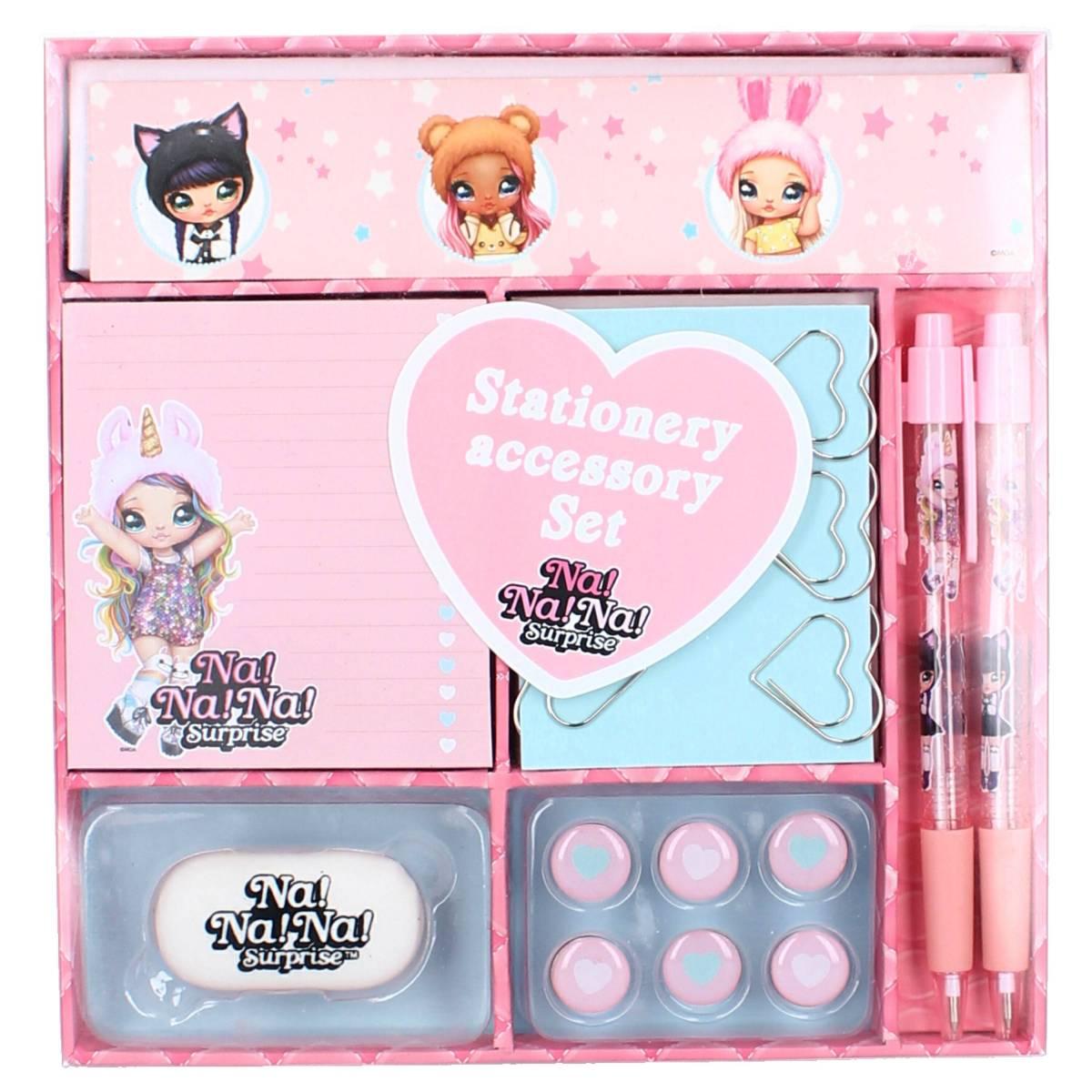 Stationery set Na!Na!Na! surprise - chic stationery