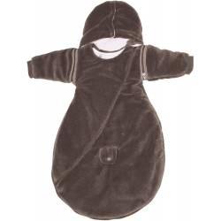 Douillette Babycalin Naissance Taupe 65 cm Intérieur et Extérieur