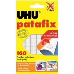 UHU 80 pastilles adhesives de patafix Blanche