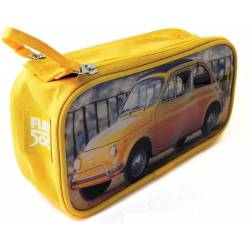 Fiat Toiletry Bag yellow yellow