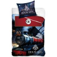 Housse de couette Harry Potter HogWarts imprimé Train