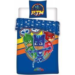 Duvet Cover PJ Masks 140 x 200 cm Blue
