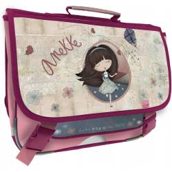 Cartable 38 cm Anekke Liberty - 3 compartiments