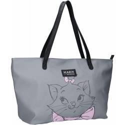 Sac Shopping Marie Disney Les Aristochats Gris