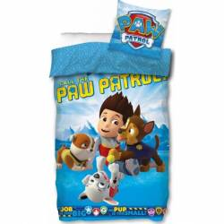 Paw Patrol Dogs Reversible Duvet Cover 140 x 200 + Pillowcase