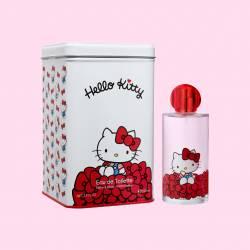 Eau de Toilette Hello Kitty avec Boîte en Métal 100 ml