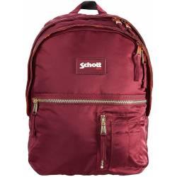 Backpack SCHOTT Army Burgundy L