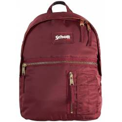 SCHOTT Army Burgundy M Backpack