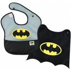 Super Bib with Removable Cape Batman