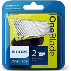 Recharge OneBlade Philips Lame x1