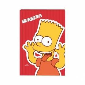 Cahier de textes Bart Simpsons