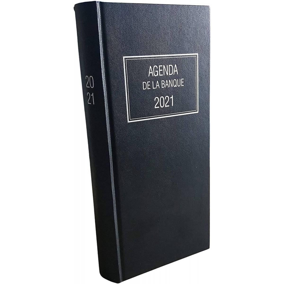 Oberthur - Agenda Journalier de la Banque PRADO - 2018 - 18x29cm - Couleur Noir