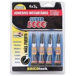 Set of 4 Instant Glue 3gr Super 500