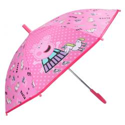Parapluie Peppa Pig Don't Worry About Rain Rose