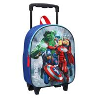 Sac à Dos à Roulettes Avengers 3D Save the Day - 31 cm