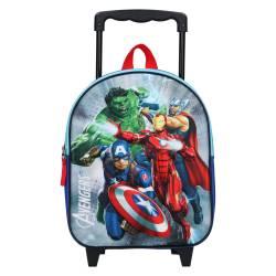 Sac à Dos à Roulettes Avengers 3D Save the Day - 31 cm