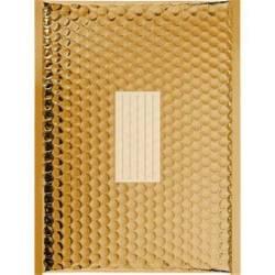 100 Enveloppes à Bulles Métalisées PRO - 260X180 mm - D/1 - Qualité Premium (Gold)