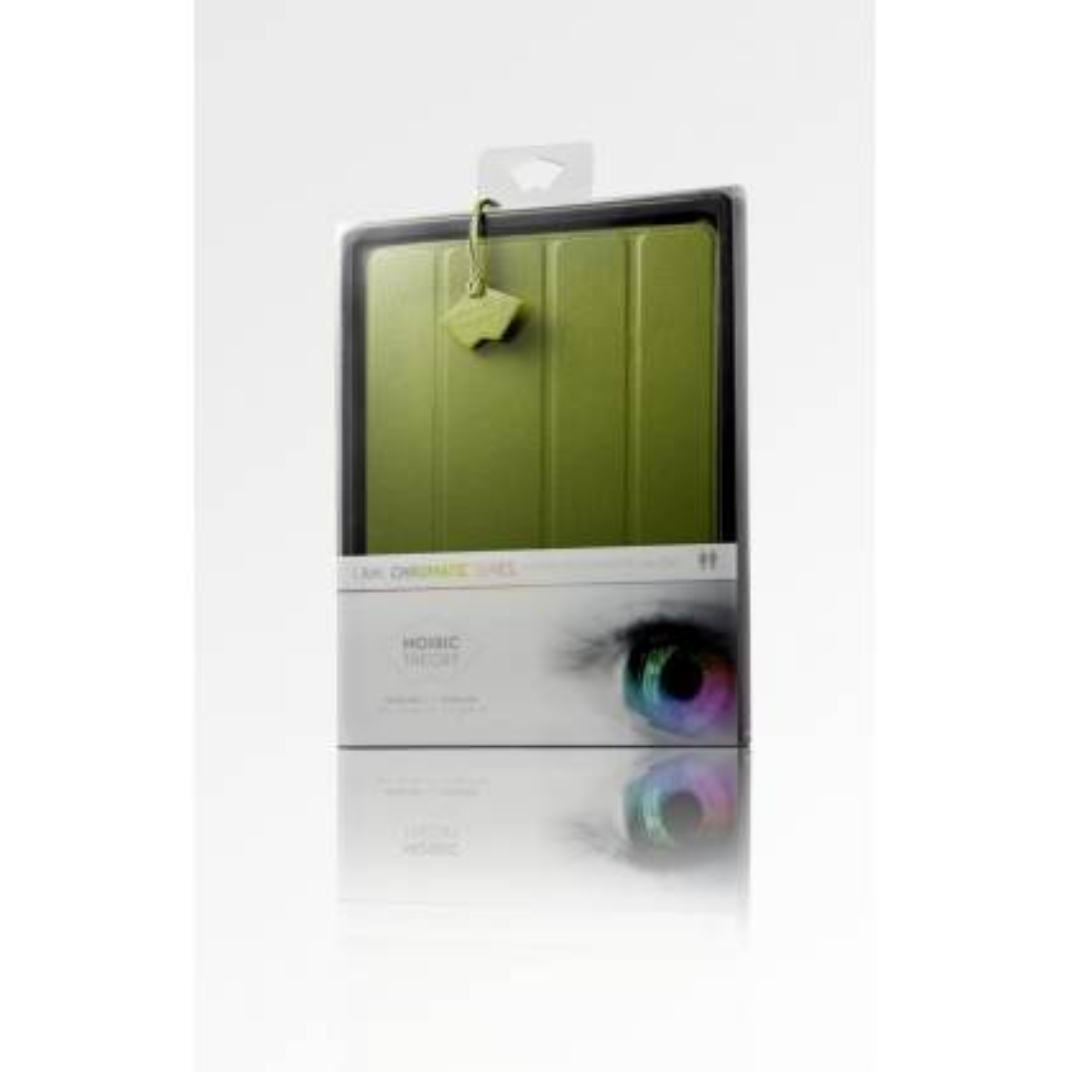 Mosaic Theory Housse etui de protection simili en cuir pour Apple iPad 2 / iPad 3 Vert