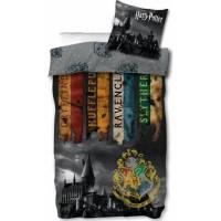Housse de Couette Harry Potter Réversible 140 x 200 + Taie d'Oreiller