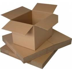 20 Cartons simple cannelure 31 x 22 x 20.5 cm