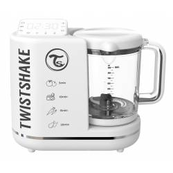 Robot Culinaire pour Bébé 6 en 1 Twistshake Blanc