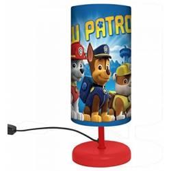 Lampe de Chevet La Pat Patrouille Fille Rose 29 cm